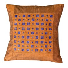 Checkmate Copper Cushion Cover
