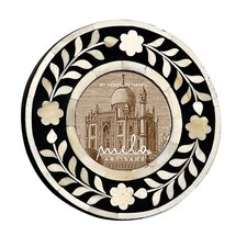Imperial Beauty Round Picture Frame