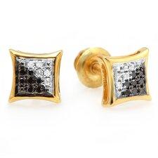 Round Cut Diamond Stud Earrings