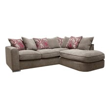 Charlton Left Hand 4 Seater Chaise Sofa