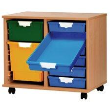 12 Tray Wood Standard Width Cabinet