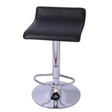 "Lanham 21.7"" Adjustable Swivel Bar Stool (Set of 2)"