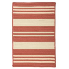 Long Point Terracotta Striped Indoor/Outdoor Rug