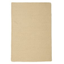 Dockside Cuban Sand Solid Indoor/Outdoor Rug