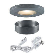 <strong>Jesco Lighting</strong> Halogen Beveled Edge Slim Disk Kit