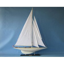 "<strong>Handcrafted Model Ships</strong> 50"" Intrepid Limited Sailboat"
