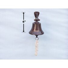 <strong>Handcrafted Model Ships</strong> Antiqued Copper Bell