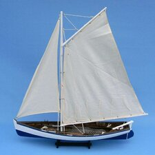 <strong>Handcrafted Model Ships</strong> Gone with the Wind Fishing Model Boat