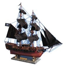 Caribbean Pirate Model Ship