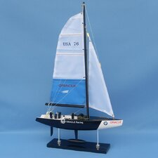 "14"" BMW Oracle Model Yacht"