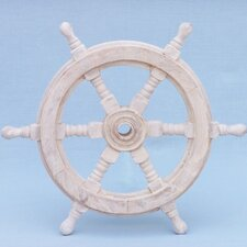 Classic Ship Steering Wheel Wall Décor