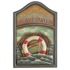 "24"" Wooden Life Boat Pub Sign"