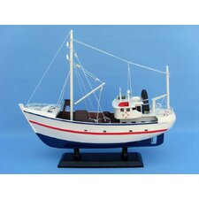 <strong>Handcrafted Model Ships</strong> Fine Catch Fishing Model Boat