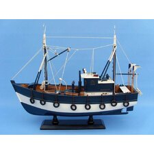 <strong>Handcrafted Model Ships</strong> Fishful Thinking Fishing Model Boat