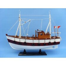 <strong>Handcrafted Model Ships</strong> Cabin Fever Fishing Model Boat