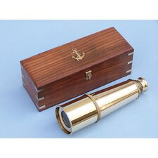 Admiral's Spyglass Telescope with Rosewood Box