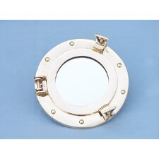 <strong>Handcrafted Model Ships</strong> Porthole Mirror