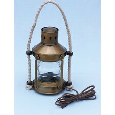 <strong>Handcrafted Model Ships</strong> Anchor Electric Lantern