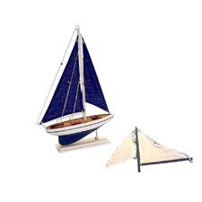 <strong>Handcrafted Model Ships</strong> Pacific Sail Model Boat