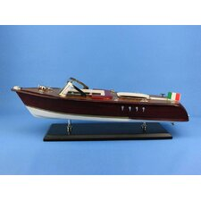 "<strong>Handcrafted Model Ships</strong> 20"" Riva Aquarama Model Boat"