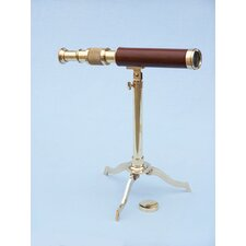 Floor Standing Decorative Telescope on Stand