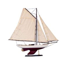 <strong>Handcrafted Model Ships</strong> Bermuda Sloop Model Ship