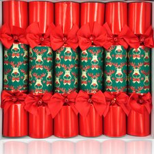 Super Deluxe Rudolph Party Crackers