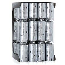 Cubes Chrome Party Crackers