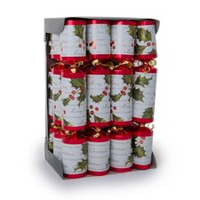 Holly Berry Card Cracker (12-Pack)