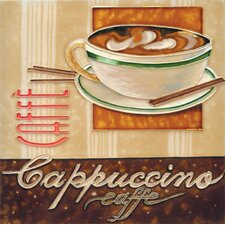 "<strong>En Vogue</strong> 8"" x 8"" Cappuccino Art Tile in Multi"