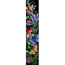 "<strong>En Vogue</strong> 16"" x 3"" Flowers II Art Tile in Multi"