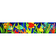 "<strong>En Vogue</strong> 16"" x 3"" Fish 1 Art Tile in Multi"