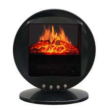 Oscillating 5115 BTU 120 Volt Desk Top Fireplace Heater