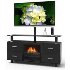 """Galaxy 47.125"""" TV Stand with Electric Fireplace"""