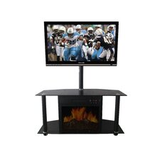 """Manhattan 40.125"""" TV Stand with Electric Fireplace"""