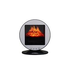 Oscillating 5115 BTU 120 Volt Desk Top Fireplace Heater