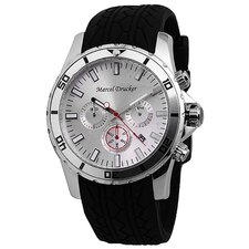 <strong>Marcel Drucker</strong> Men's Chronograph Watch with Interchangeable Straps