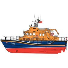 1:72 RNLI Severn Class Lifeboat Model Kit