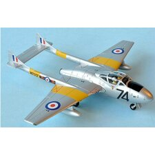 1:72 De Havilland Vampire T.11 Plane Model Kit