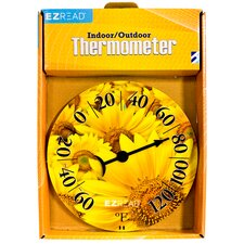 <strong>EZRead</strong> Sunflower Dial Thermometer