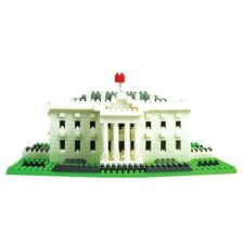 Deluxe White House Building Blocks