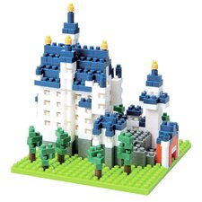 <strong>nanoblock</strong> Sites to See Neuschwanstein Castle Building Blocks