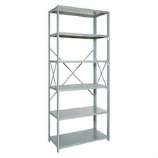 "Open Clipper Basic 87"" H 6Shelf Shelving Unit Starter"