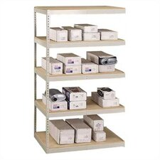 "Muffler Storage 84"" H 5 Shelf Shelving Unit Add-on"