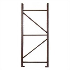 "Pallet Rack Upright Frames - 3"" x 1 3/4"" Post"
