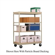 <strong>Penco</strong> Inventory Carts with White Melamine Deck