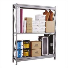 <strong>Penco</strong> Wide Span Shelving Basic Units - With 3 Steel Shelves