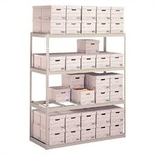 <strong>Penco</strong> Record Storage Shelving Starter Units - With Box Supports