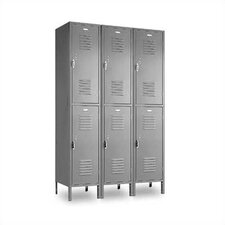Vanguard Double Tier 3 Wide Locker (Unassembled)