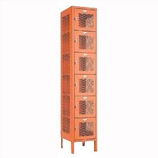 <strong>Penco</strong> Invincible II Six Tier 1-Wide Locker (Assembled)